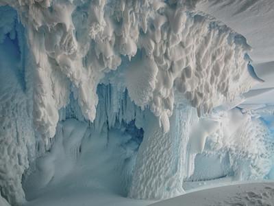 Учёные: в тёплых пещерах под ледниками Антарктиды процветает жизнь