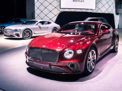 Во Франкфурте показали новое роскошное купе от Bentley