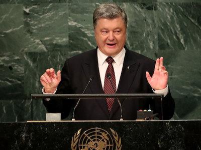Срыв школьного перемирия связывают с участием Порошенко в ГА ООН