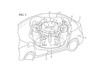 Инженеры Ford запихнули подушки безопасности в съемный столик