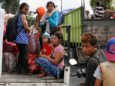 На Бали идет эвакуация жителей из-за возможного извержения вулкана