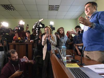 Суд признал Саакашвили нарушителем границы