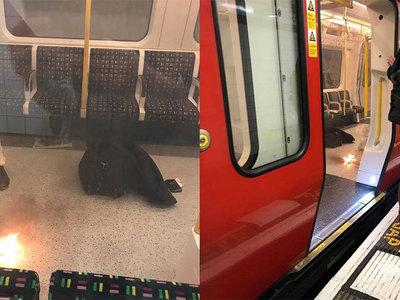 В поезде лондонской подземки взорвалась зарядка для мобильника