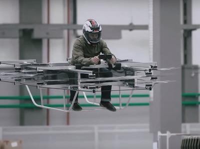 "Представлен летающий мотоцикл концерна ""Калашников"""
