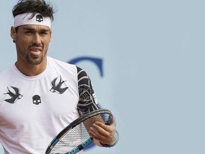 Итальянский теннисист Фоньини наказан за оскорбление женщины-судьи