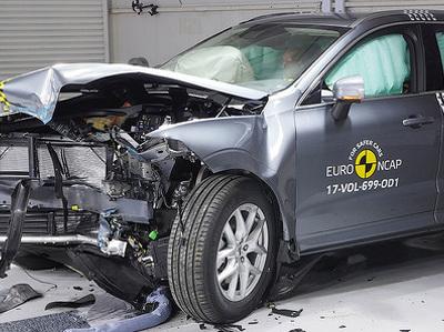 Восемь новых моделей прошли тесты EuroNCAP