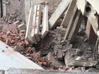 Лестница в Саранске обрушилась с 1 по 9 этаж. Трое погибших