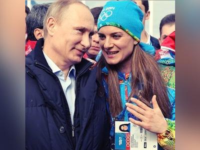 Елена Исинбаева объявила о вступлении в Putin Team