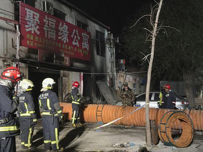 Пожар в пригороде китайской столицы унес жизни 19 человек