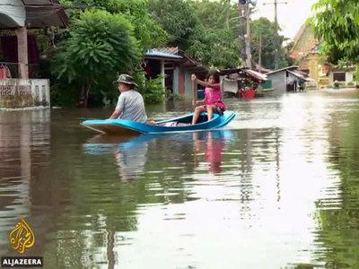 Не менее 15 человек стали жертвами наводнения в Таиланде