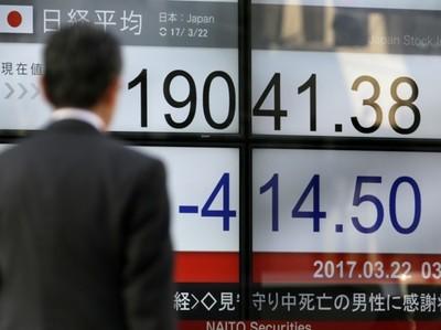 Рынки Азии падают вслед за акциями техсектора