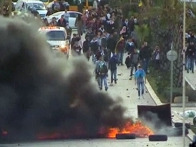 Столкновения на Западном берегу Иордана: пострадали 50 человек