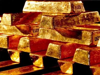Золото дешевеет в ожидании повышения ставки ФРС