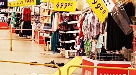 Случайный секс в гипермаркете
