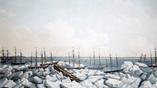 Китобои покидают свои корабли в сентябре 1871 года