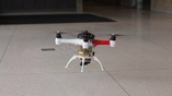 Аппарат Loon Copter передвигается по воздуху так же, как и другие квадрокоптеры