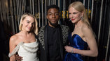 Margot Robbie, Chadwick Boseman and Nicole Kidman