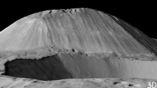 Гора Ахуна, видимо, представляет собой потухший криовулкан.