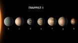Система TRAPPIST-1 содержит рекордное количество землеподобных планет.
