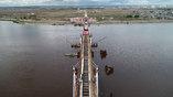 Общая длина моста Благовещенск – Хэйхэ, возведенного ГК СК Мост Руслана Байсарова, составляет 1080 метров