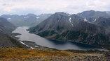 Ямало-Ненецкий АО. Полярный Урал. Озеро Большое Хадатаеганлор