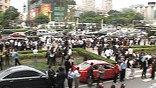 """Бортовая качка в офисной многоэтажке вызвала приступ паники среди пекинских """"белых воротничков"""""""