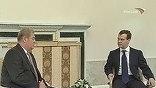 Президент Молдавии Воронин заявил, что надеется на помощь с Приднестровьем, и предложил вернуть в Эрмитаж похищенные из музея и найденные в республике картины