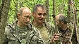 Путин ведет всех к месту, где залег зверь