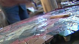 """История подвига известного мозаичиста Владимира Фролова. Ценой своей жизни он украсил московское метро. Об этом рассказал документальный фильм """"Метро"""" Елизаветы Листовой"""