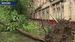 Накануне скорость ветра достигала в столице 17 метров в секунду, в Подмосковье - 21 метров в секунду, за сутки выпало 7 миллиметров осадков