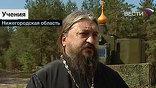 Между штабом и госпиталем расположена первая в истории российского военного духовенства передвижная армейская церковь