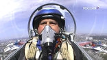 Удар пришёлся по носовой части Су-27 Игоря Ткаченко, который мог погибнуть в этот момент. Неуправляемый самолёт упал на дачный посёлок. Второй - в чистом поле