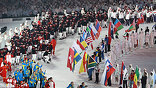 Россия представила небольшое, но очень красочное шоу - презентацию следующих Олимпийских игр, которые пройдут в Сочи в 2014 году