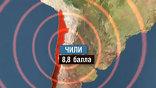 Одно из самых сильных в истории страны землетрясений  - почти 9 баллов по шкале Рихтера -  произошло в ночь на 27 февраля