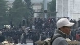 В Киргизии решением временного правительства республики объявлен двухдневный траур по погибшим во время беспорядков