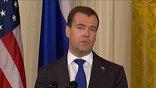 Дмитрий Медведев и Барак Обама провели переговоры в Вашингтоне