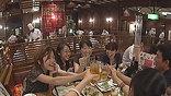 По вечерам рестораны – самые оживленные места Токио