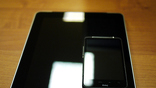 iPad в сравнении с одним из самых крупных смартфонов на рынке - HTC Desire HD