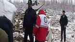 Самолет рухнул с высоты нескольких сотен метров