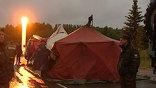 Авиакатастрофа Ту-134: шатры