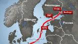"""Газопровод """"Северный поток"""": карта"""