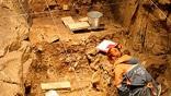 Раскопки показали, что пещера в разное время использовалась тремя различными видами людей