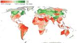 Предполагаемое влияние увеличения климата на 3 градуса на урожайность к 2050 году