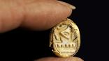 Перстень-печать с именем египетского фараона XIX династии Сети Первого, правившего в 1290-1278 годах до н.э.