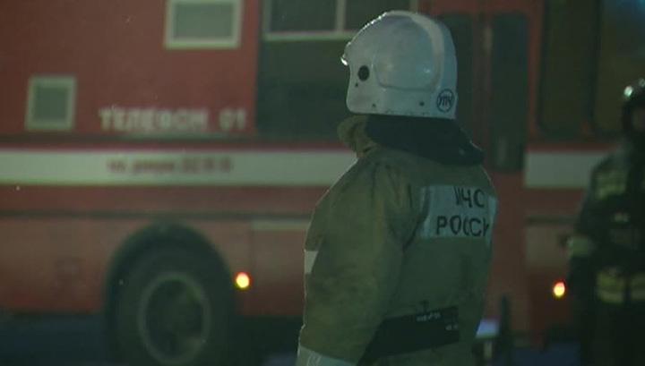 Пожар в Москве: пострадали три человека
