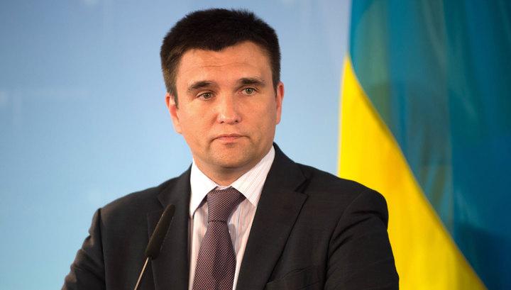Климкин назвал выборы в ДНР и ЛНР незаконными и пригрозил санкциями
