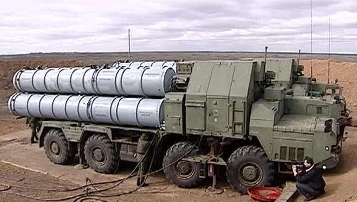 Появилось видео выгрузки С-300 в Сирии