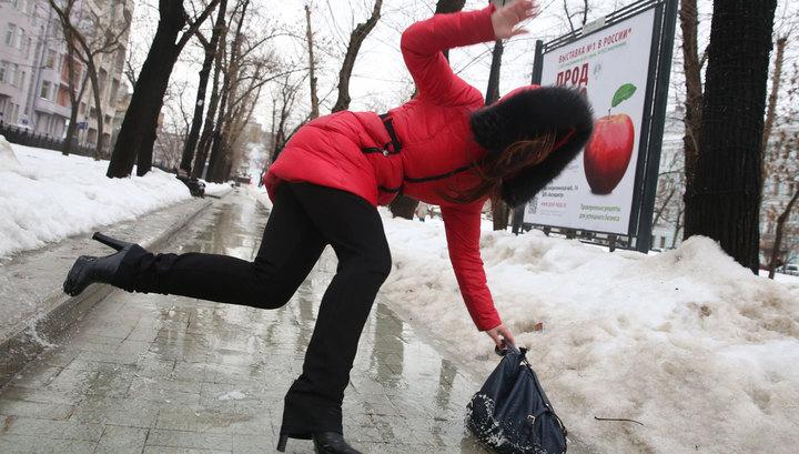 Зима в Москве начинается с резкого похолодания и опасной гололедицы