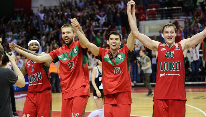"""Баскетбол. """"Локомотив-Кубань"""" одержал очередную победу в Еврокубке"""