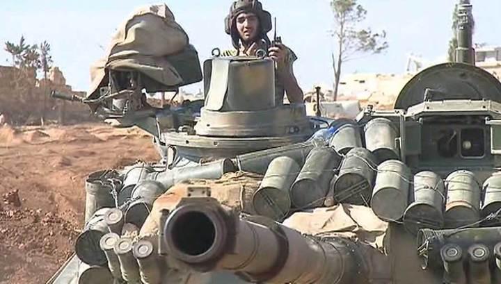 Войска Асада взяли в котел крупную группировку террористов в провинции Идлиб
